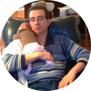 Josh sleeping with baby - All In