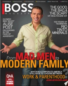 Boss Mag cover