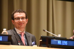 Josh Levs Speaks at U.N. March 15 2016